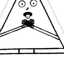 Triangle Choke Sticker