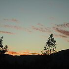setting sun Great Dividing Range North Queensland by myhobby