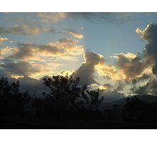 designer clouds Photographic Print