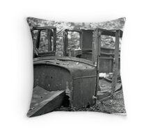 Forgotten Cadillac Throw Pillow