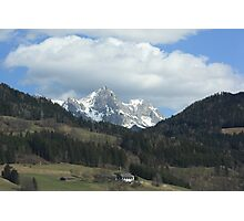 Alps in Southern Austria #1 Photographic Print
