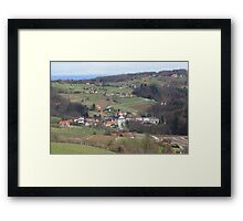 Wine Country in Southern Austria Framed Print