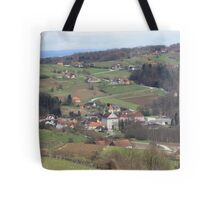 Wine Country in Southern Austria Tote Bag