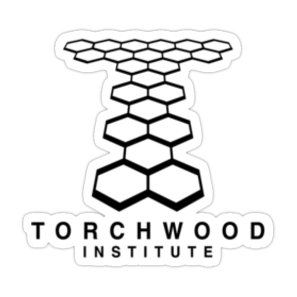 Torchwood Black Logo and Name by Christopher Bunye