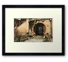 Tardis-Asia Framed Print