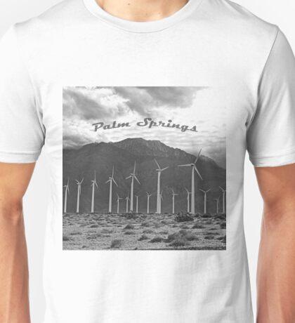 Palm Springs Windmills  Unisex T-Shirt