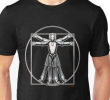 Cyber-Vitruvian Man Unisex T-Shirt