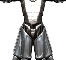 Cyber-Vitruvian Man Sticker