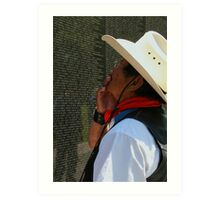 The Vietnam Wall 4423 Art Print