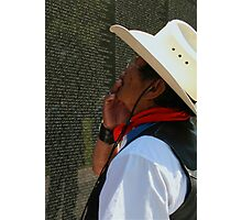 The Vietnam Wall 4423 Photographic Print