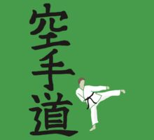 Karate do with side kick guy (without logo) T-Shirt