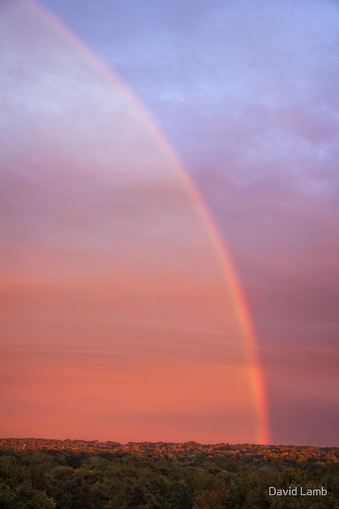 Sunset Rainbow by David Lamb