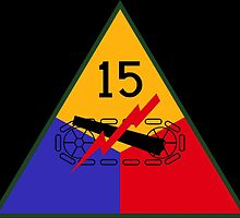 15th US Armored Division (Ghost Division) by wordwidesymbols