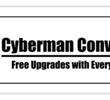 Cyberman Conversion Company Sticker