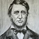 Henry David Thoreau by Hidemi Tada