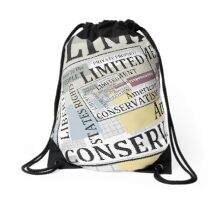 Limited Government Drawstring Bag