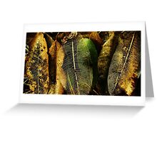 Natural decay Greeting Card
