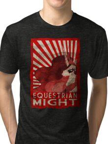 Equestrian Might Tri-blend T-Shirt