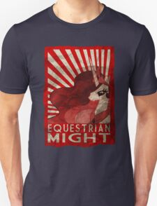 Equestrian Might Unisex T-Shirt