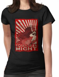 Equestrian Might Womens Fitted T-Shirt