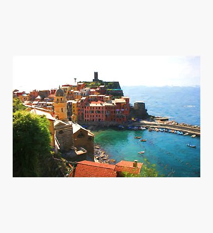 Vernazza Photographic Print