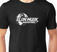 Elon Musk Industries Logo Black Unisex T-Shirt