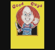 Horror Doll Chucky Caricature Drawing by MMPhotographyUK