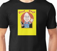 Horror Doll Chucky Caricature Drawing Unisex T-Shirt