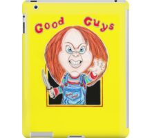 Horror Doll Chucky Caricature Drawing iPad Case/Skin