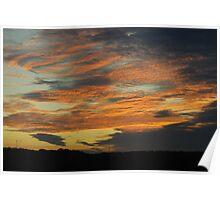 Sunrise in Barnhart Missouri Poster