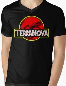 Nova Park Mens V-Neck T-Shirt