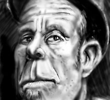 Tom Waits Caricature by MBJonly