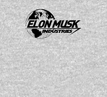 Elon Musk Industries Logo Grey T-Shirt