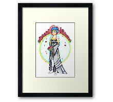 Norn Wedding Dress Framed Print