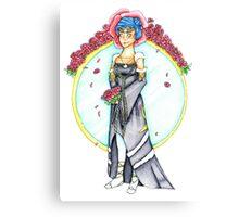 Norn Wedding Dress Canvas Print