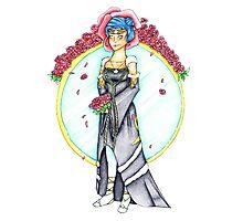 Norn Wedding Dress Photographic Print