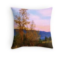 Gradual Autumn Throw Pillow