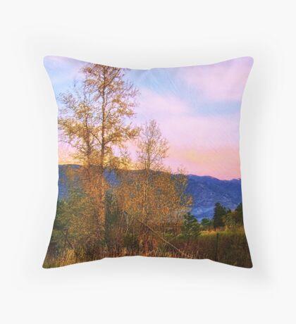 Gradual Autumn Throw Pillow