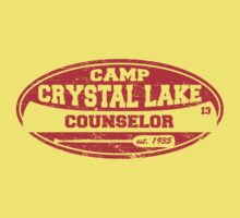 Camp Crystal Lake Counselor Kids Clothes