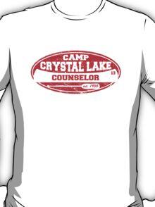 Camp Crystal Lake Counselor T-Shirt