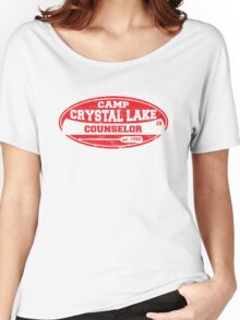 Camp Crystal Lake Counselor Women's Relaxed Fit T-Shirt