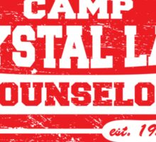 Camp Crystal Lake Counselor Sticker