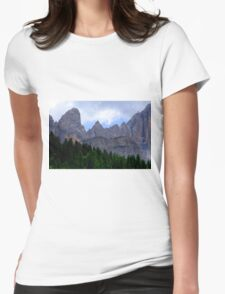 Mount Civetta  Womens Fitted T-Shirt
