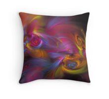 Artisan Abstract Fractal Throw Pillow