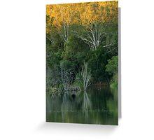 Lake Samsonvale, Queensland. Greeting Card