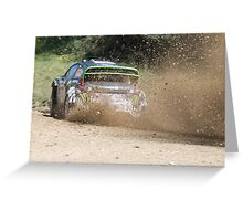 Ken Block, WRC Rally, Coffs Harbour, NSW, Australia 2011 Greeting Card