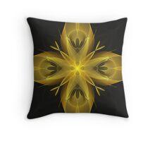 Calla Abstract Fractal Design Throw Pillow