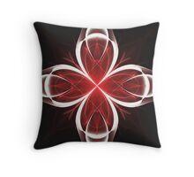 Calla Abstract Fractal Design V2 Throw Pillow