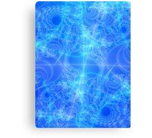 Celestial Roadmap Abstract Fractal Canvas Print
