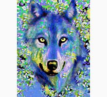 Wolf Oil Painting T-Shirt